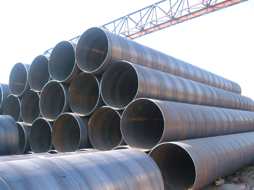 low carbon steel Spiral pipe
