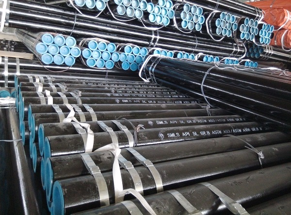 seamles steel pipe line size