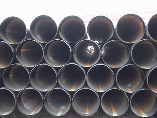 Character of welded steel pipes