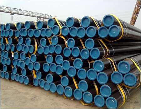 Leader steel pipe factory products show