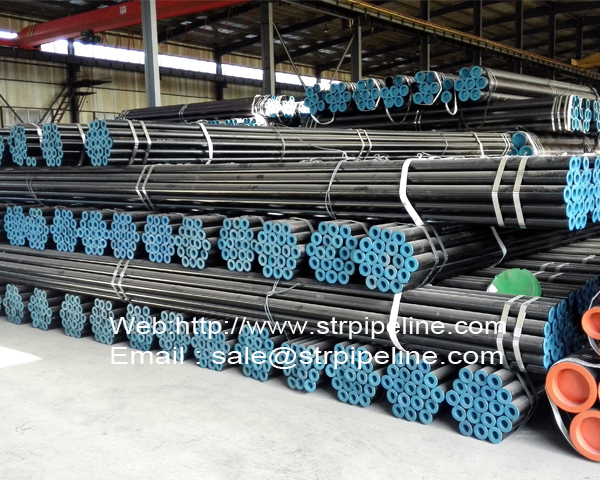High and low pressure steel tube