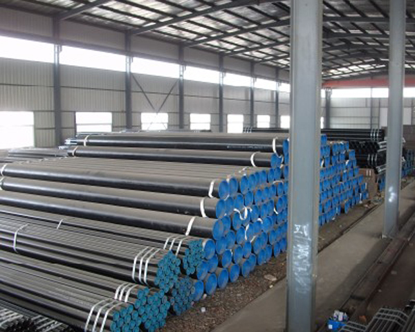 ASTM A53 API 5L BS1387 ERW Black Steel Pipes