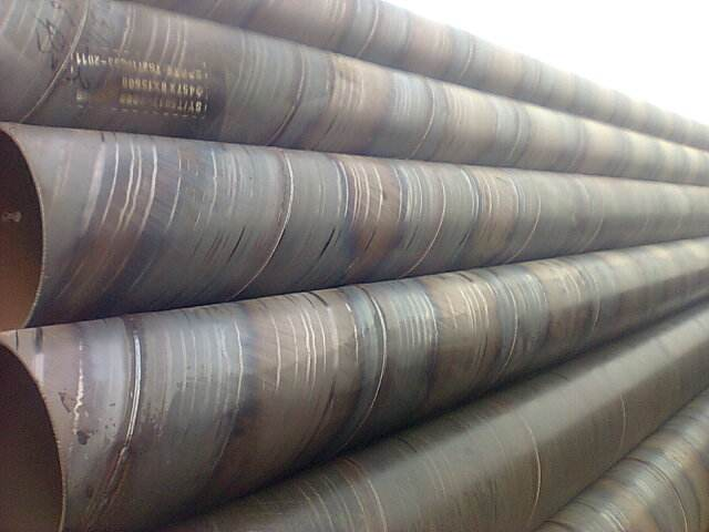 Large Diameter SSAW Spiral Welded Steel Pipe