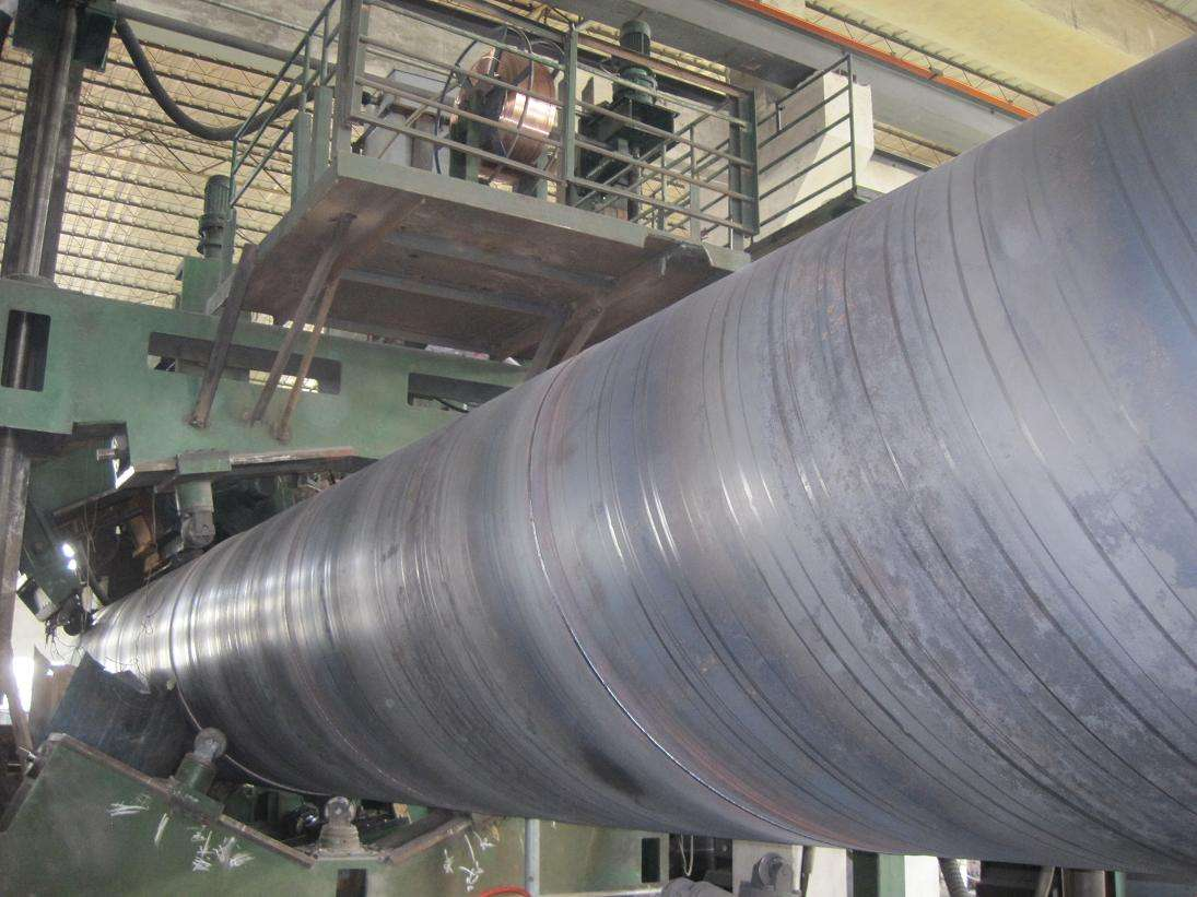 Anti-Corrosion  Bitument Spiral Steel  Pipe