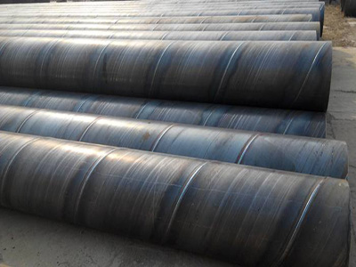 Ipn8710 3PE Larger Diameter Anticorrosion Spiral Steel Pipe