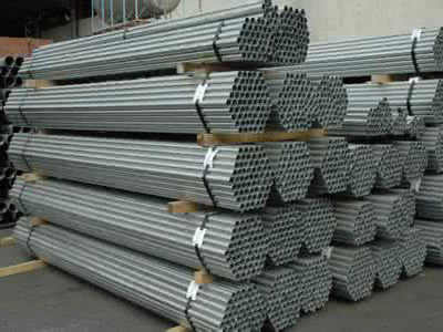 DIN 15CrMo galvanized seamless steel pipe