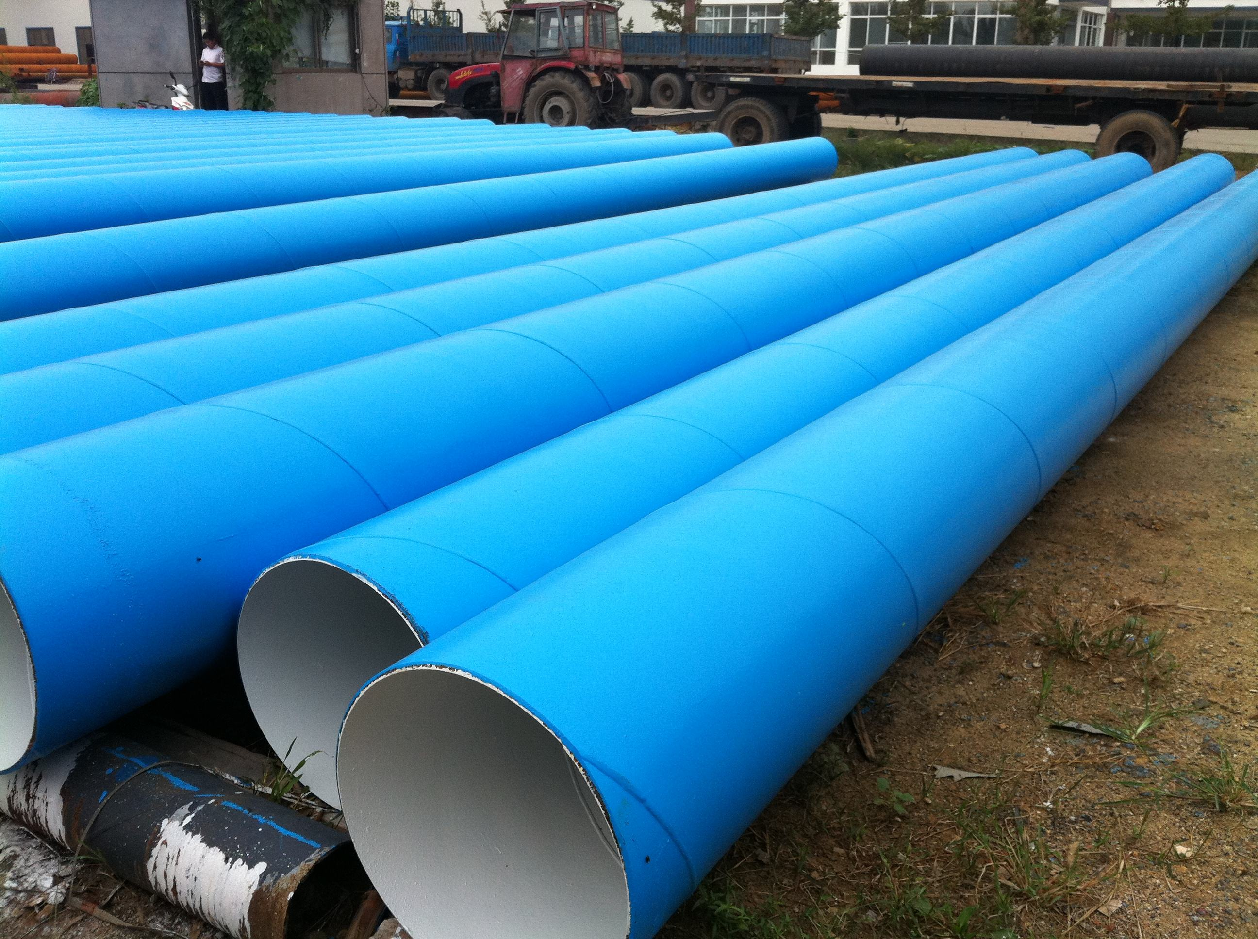 ASTM A252 SSAW Welded Carbon Spiral Steel Pipe