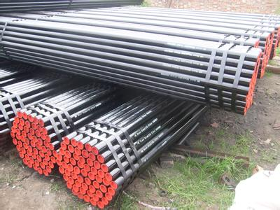 DIN2448 st52 Carbon Galvanized Seamless Steel Pipe