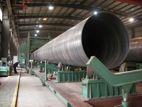 ASTM A252 Sch40 SSAW Spiral Steel Pipe