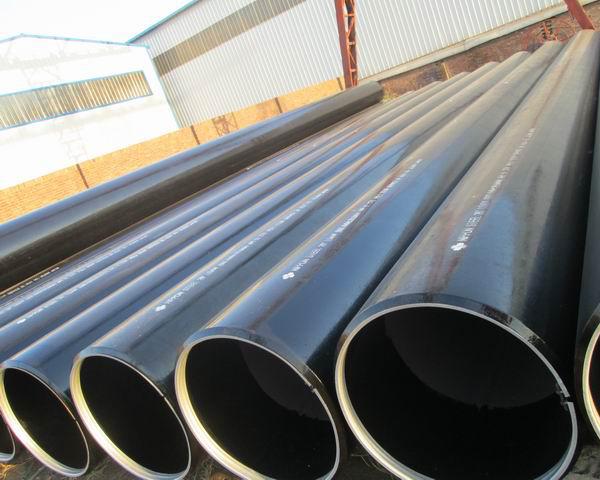 Sch40 60mm Round Welded Steel Pipe