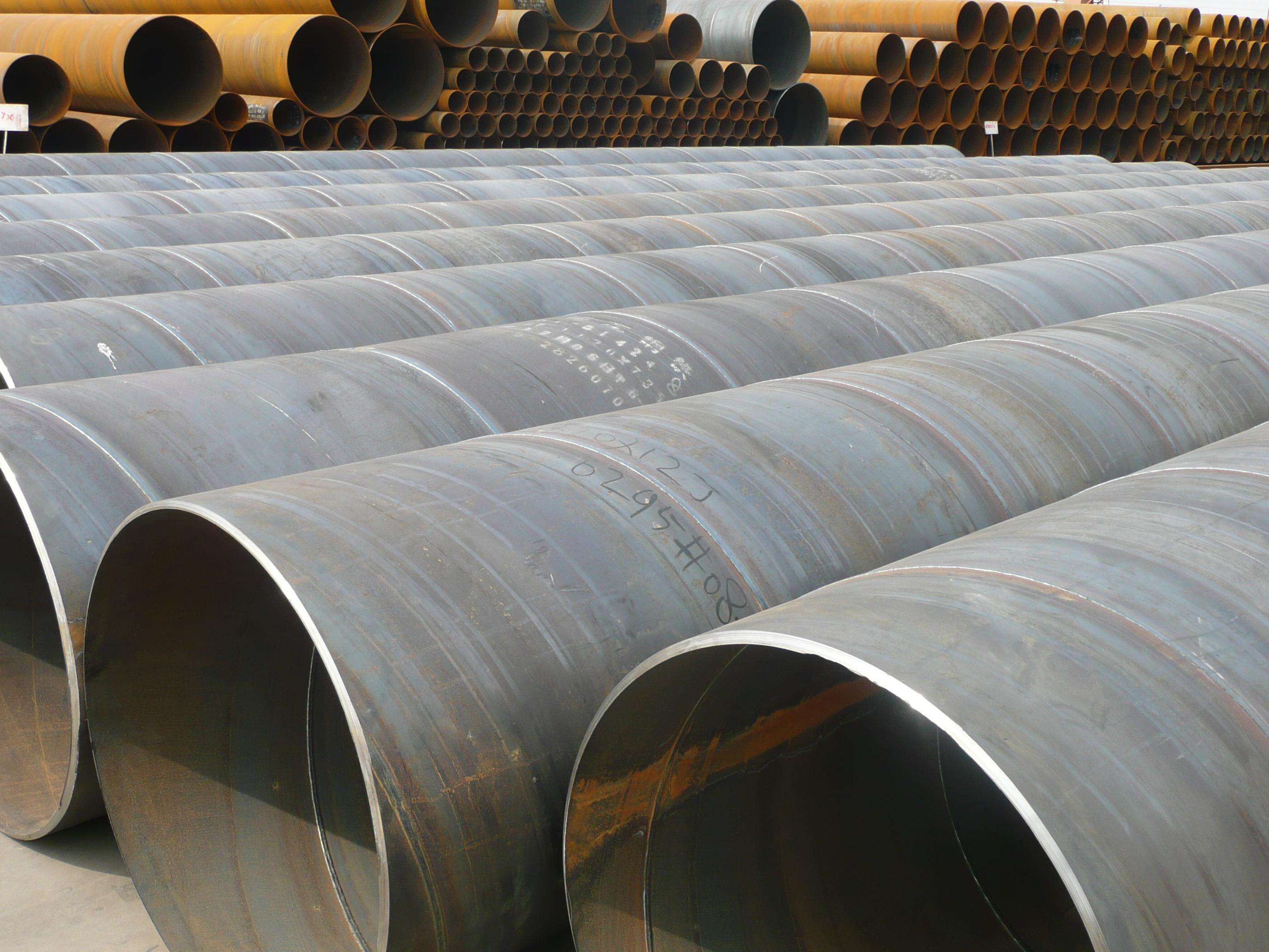 Large Diameter 3LPE Anti Corrosion Spiral Steel Pipe