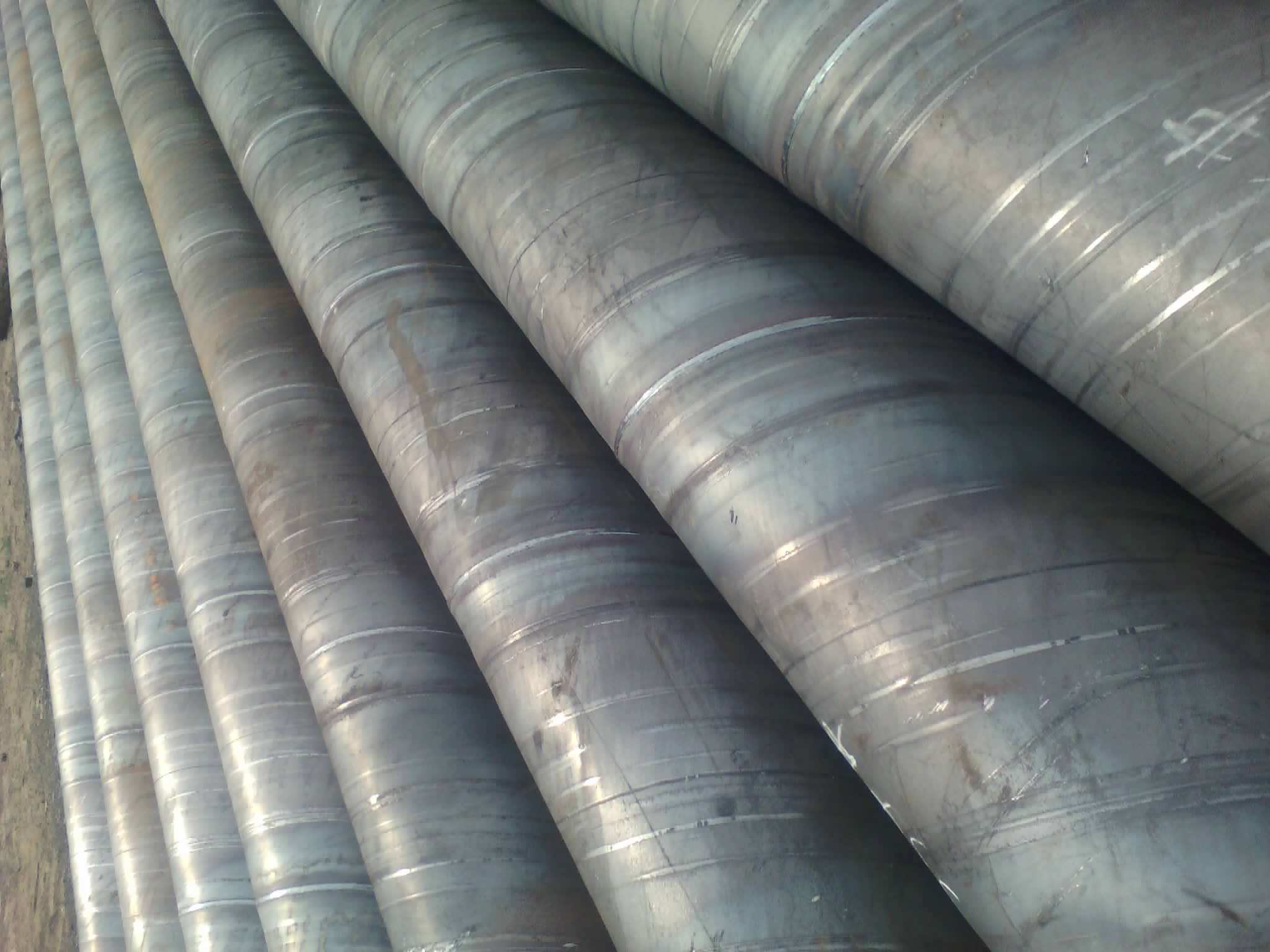 API 5L X56 SSAW Spiral Steel Pipe